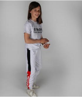 Jogging Enfant Mathis Stade Toulousain Gris 5