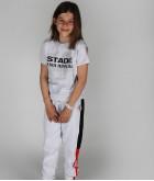Jogging Enfant Mathis Stade Toulousain Gris 4