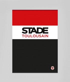 Drap De Bain Summer Stade Toulousain Tricolore