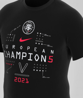 T-shirt Enfant Nike Collector Champion Champs Cup 2021 Stade Toulousain 2