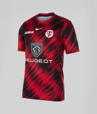 T-shirt Homme Warm Up 21/22 Stade Toulousain rouge 1