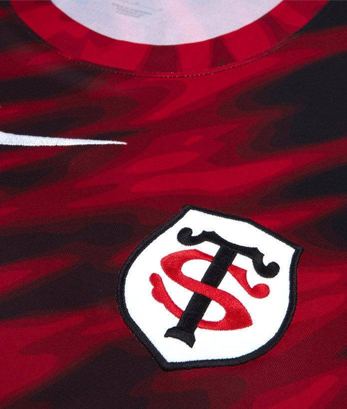 T-shirt Homme Warm Up 21/22 Stade Toulousain rouge 2