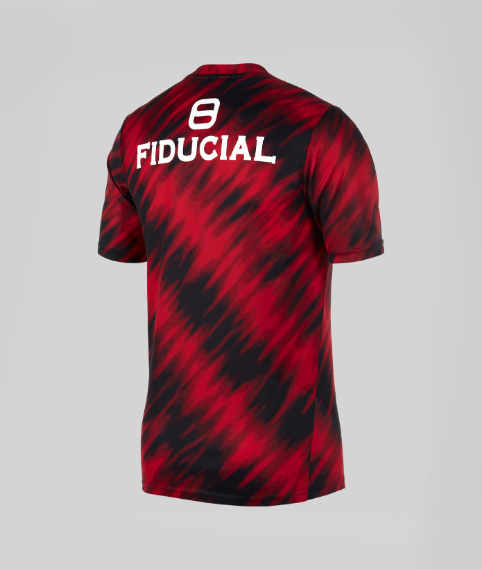 T-shirt Homme Warm Up 21/22 Stade Toulousain rouge 3
