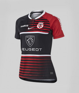 Maillot Réplica Femme 21/22 Stade Toulousain noir et rouge 1