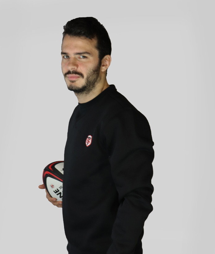 Sweat Homme Col Rond Jecko Stade Toulousain 2