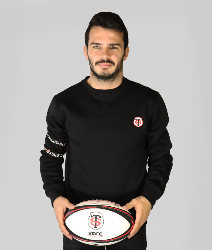Sweat Homme Col Rond Jecko Stade Toulousain 1